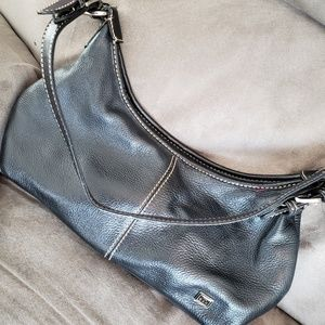EUC The Sak Black Leather Hobo Bag